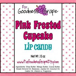 Pink Frosted Cupcake Lip Balm - The..